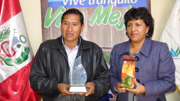 En certamen participaron más de 200 productores cafetaleros del país.