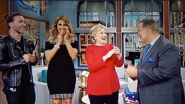 Hillary Clinton en programa