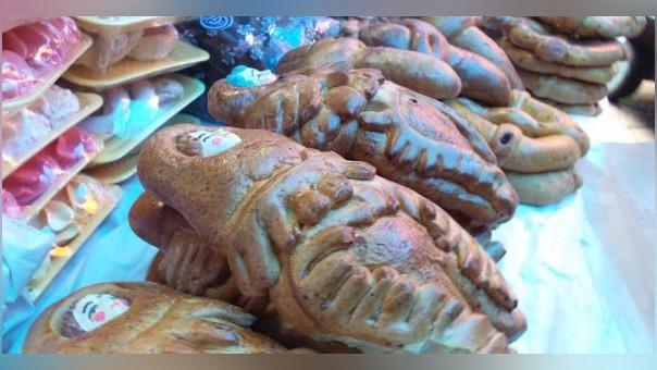 Incautaron tradicionales panes elaborados por fiesta de Todos los Santos.