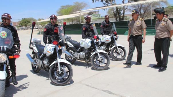 Más motocicletas para Piura.