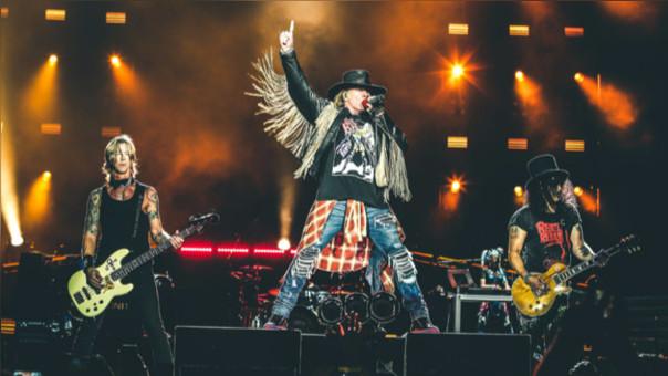 Evitar llevar autos particulares es una de las recomendaciones principales para el show de Guns N' Roses en Lima.