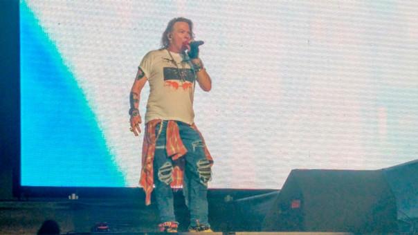 Guns N' Roses: banda se despidió de Perú en sus redes sociales