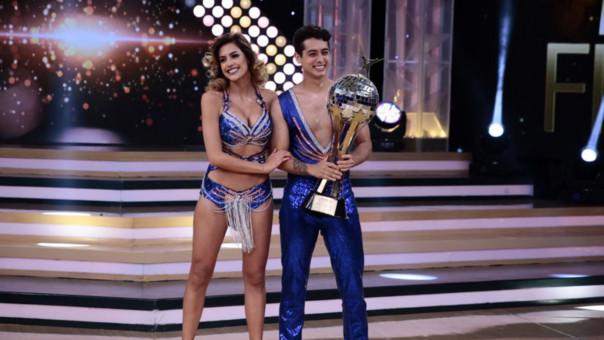 Milett Figueoa y 'Pato' Quiñones