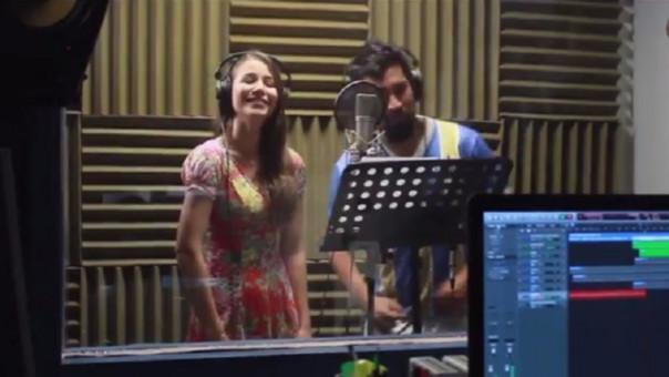 Aldo Miyashiro y Juliana Molina