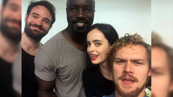 The Defenders son Daredevil, Luke Cage, Jessica Jones y Iron Fist.
