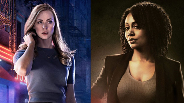 Karen Page (Daredevil) y Misty Knight (Luke Cage)