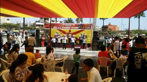 Celebración por el día de la Canción Criolla