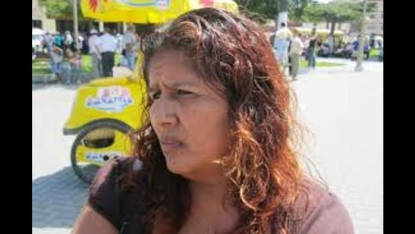 Hilda Saldarriaga testigo del  atentado contra Ezequiel Nolasco