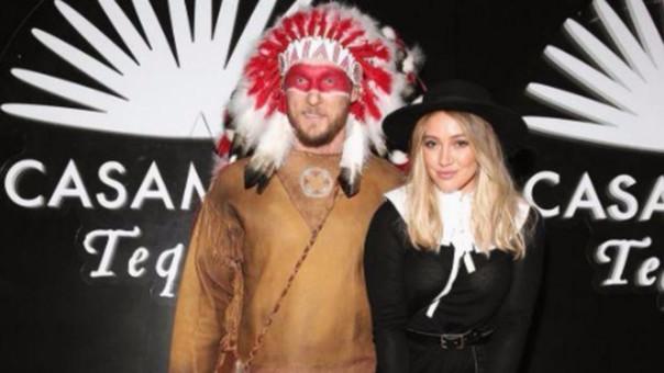 """En Internet, las fotos de los disfraces recibieron críticas por """"ser racistas y reflejar estereotipos sobre los indios americanos""""."""