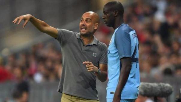 ¿Mejorará la relación entre Pep Guardiola y Yaya?