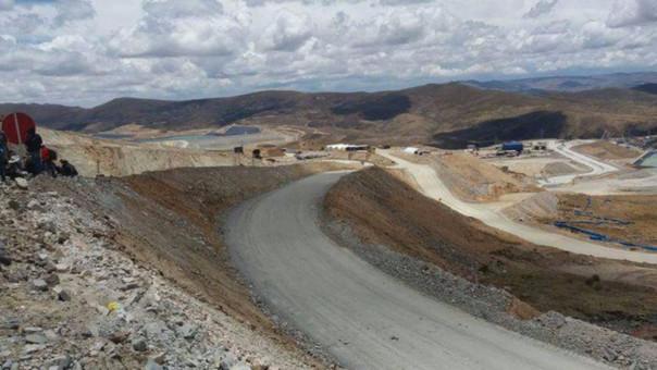 Campamento de minera