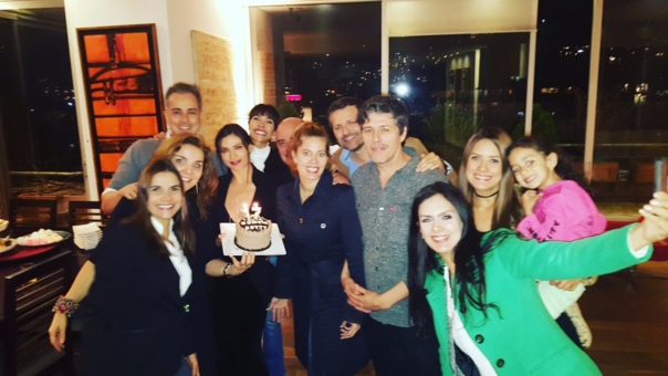 Beatriz Pinzón, Nicolás Mora, Armando Mendoza, Marcela Valencia y Patricia Fernández se reunieron en Colombia.