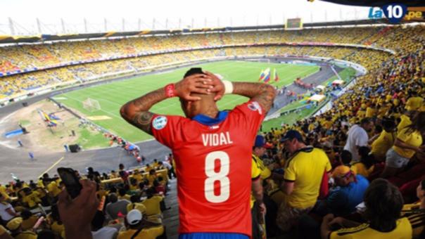 Chile furioso por corte de luz en su camerino en duelo con Colombia