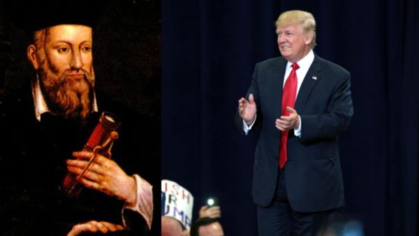 Nostradamus y Trump