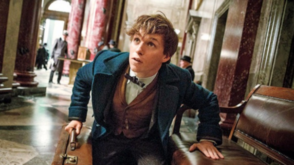 El ganador del Oscar se mostró feliz por su encuentro con la creadora del Universo Harry Potter.