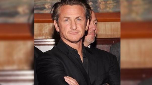 Sean Penn se mostró molesto por algunas celebridades