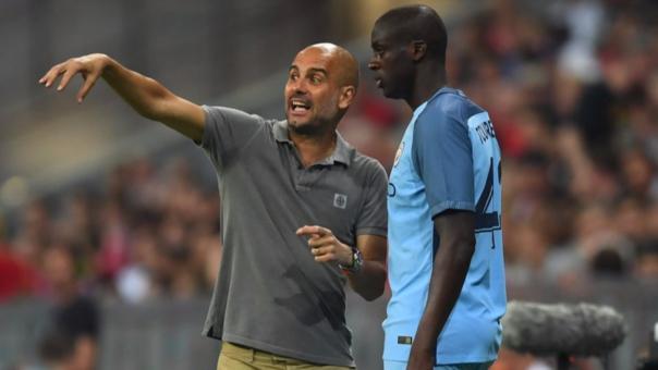 Dimitri Seluk hizo duras declaraciones contra Pep Guardiloa y este pidió que se rectificara. Touré pidió perdón y volverá a ser considerado en el equipo.