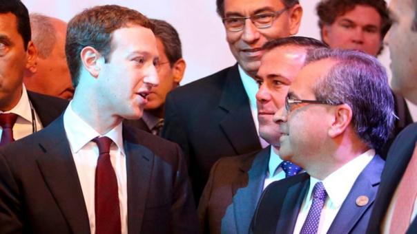 Así describió en Facebook su primer día en Perú | Fotos — Mark Zuckerberg