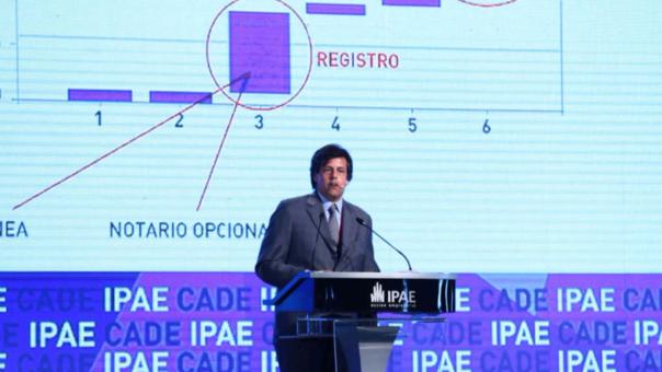 Quijandría fue gerente de Práctica Global de Competitividad y Comercio del Grupo del Banco Mundial (BM).