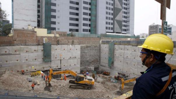 La actividad económica del sector construcción es una de las que más ha caído en el año.