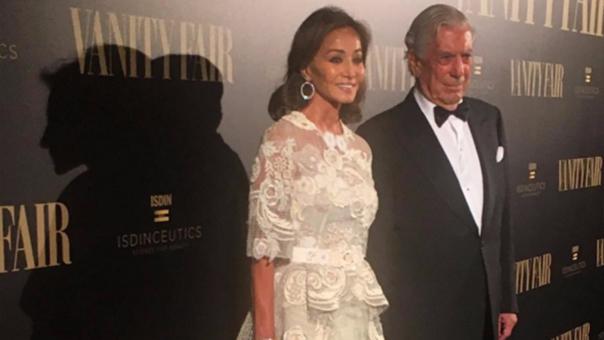 Mario Vargas Llosa e Isabel Preysler... y el encuentro con el exesposo de la filipina