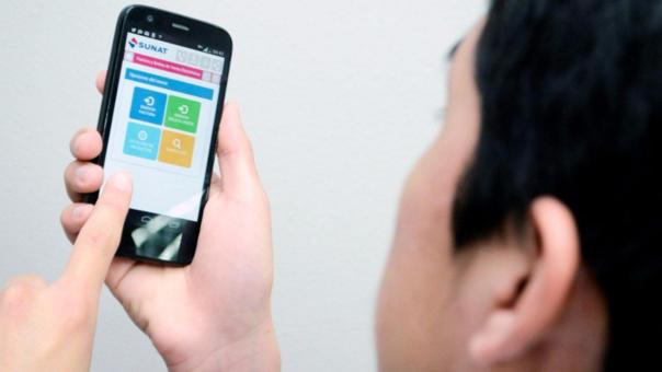 Ahora puedes hacer pagos electrónicos desde la APP Sunat.