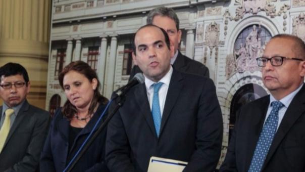 El ministro Zavala presentó el plan de Presupuesto Nacional para el 2017.