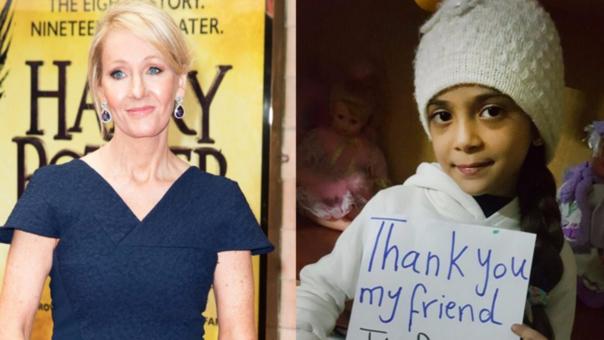 J.K.Rowling sorprende con libros de Harry Potter a niña siria