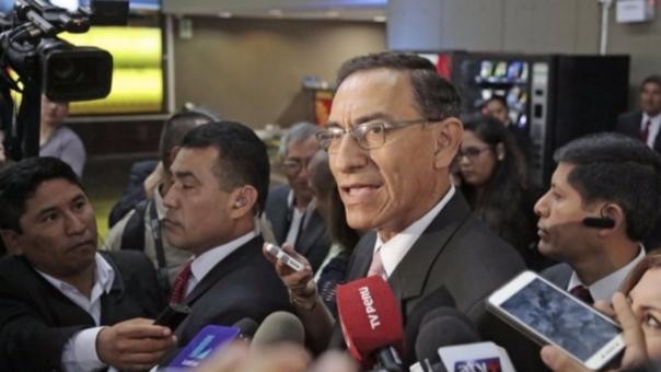 Martín Vizcarra respaldó gestión del ministro Saavedra.