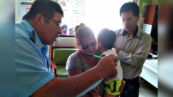 Trujillo: hallan sano y salvo a niño desaparecido