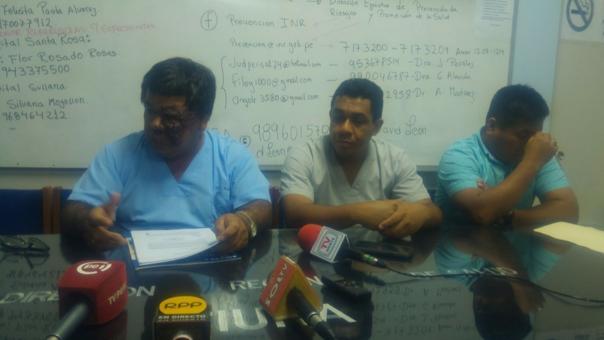 Anuncio se realizó mediante conferencia de prensa, en la Dirección Regional de Piura.