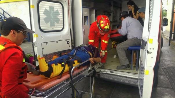 Heridos ambulancia