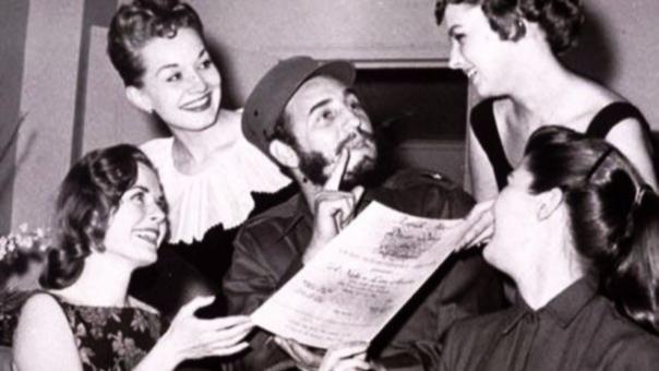 Antes de las revolución y la política, Fidel Castro tuvo un breve paso por Hollywoord como extra.