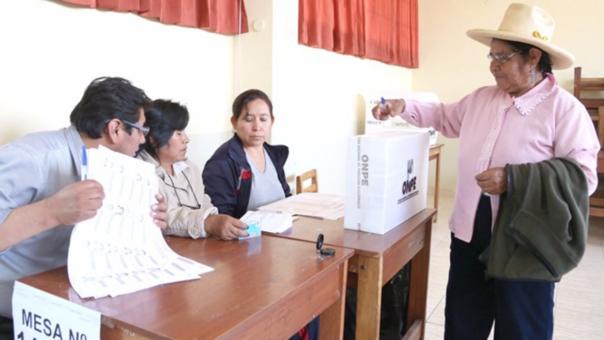Las próximas elecciones municipales y regionales serán en el año 2018.