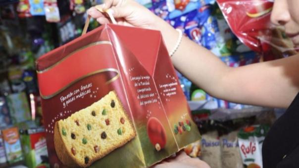 El panetón es uno de los insumos más consumidos por los peruanos durante las fiestas navideñas.