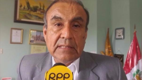 El alcalde de La Esperanza, Daniel Marcelo