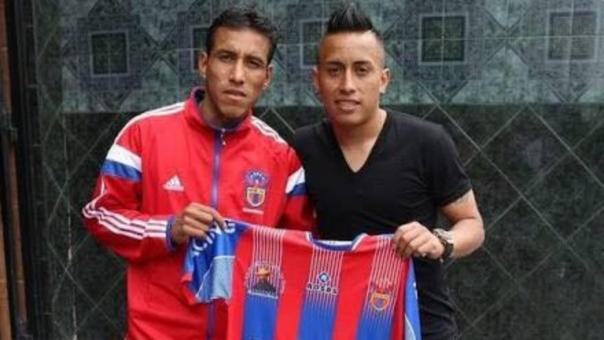 Christian Cueva jugó hasta los 16 años en Los Héroes de Muamachuco, luegó fue contratado por la San Martín.