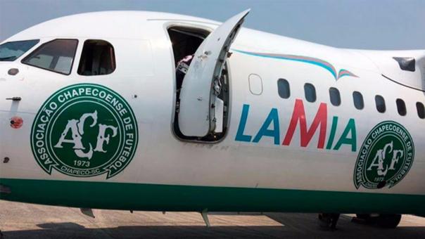 El avión British Aerospace 146 que se estrelló en Colombia.