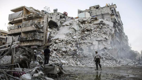 Las fuerzas armadas de Rusia y Siria han realizado intensos ataques en Alepo.