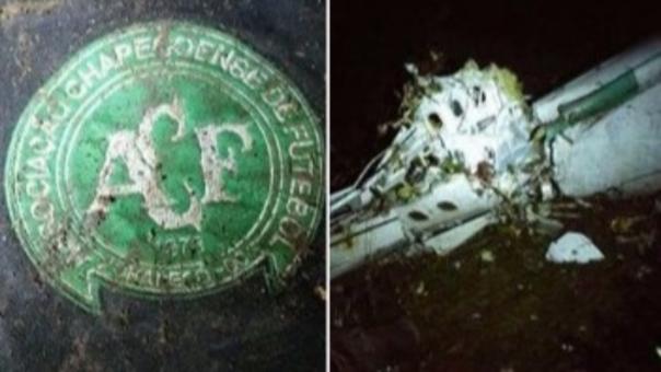 Las primeras imágenes del avión accidentado en Medellín.