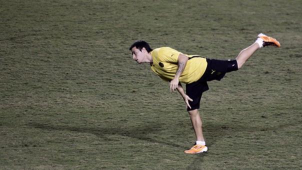 Alejandro Martinuccio, jugador argentino del Chapecoense que salvó de morir.