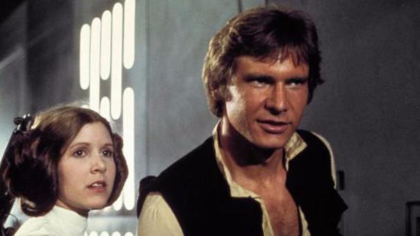 Harrison Ford y Carrie Fisher protagonizaron, junto a Mark Hamill, la trilogía original de Star Wars entre 1977 y 1983.