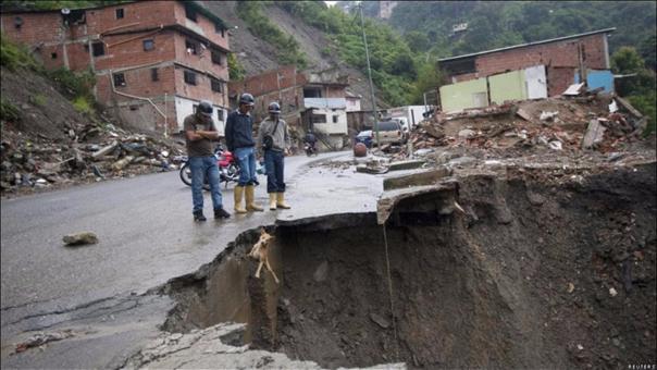 Las inundaciones se produjeron en Lara y Carabobo (imagen referencial)