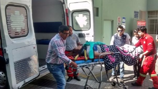 Accidente herido