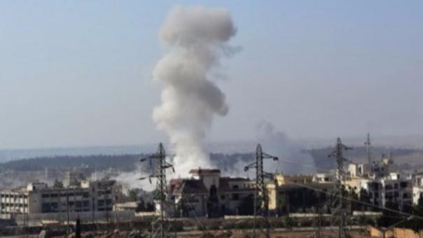 Los ataques en Siria son masivos.