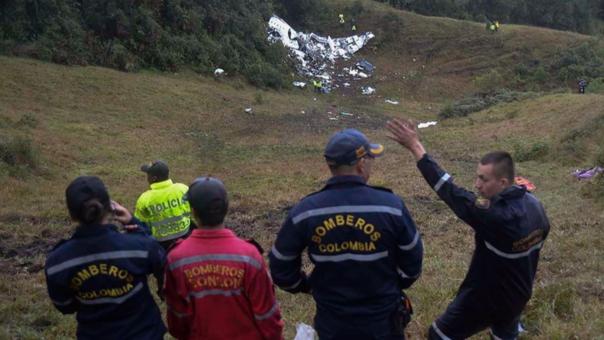 La historia del bombero peruano que participó en el rescate de los sobrevivientes del Chapecoense.