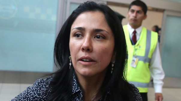 Nadine Heredia volvió al Perú este jueves. Viajó hacia Europa el martes pasado por la noche.