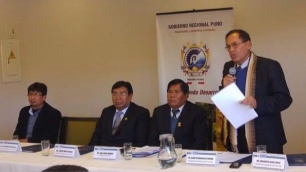 Bancada parlamentaria de Puno reaccionó tras protesta de pobladores.