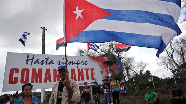 Continúan los homenajes a Fidel Castro en Cuba.
