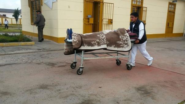 Escolar herido será llevado a Huancayo